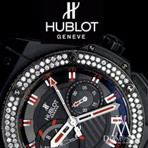 Hublot Diamond Hublot Big Bang King Power Black Magic Foudroya...