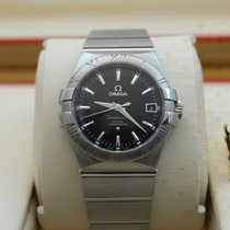 Omega 123.10.35.20.01.001  Constellation Automatic Blk Dial