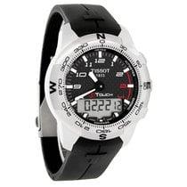 Tissot T-Touch Expert Mens Carbon Titanium Watch T047.420.47.2...
