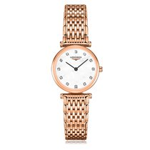 Longines La Grande Classique Quartz Rose Gold Plated Mother-Of...