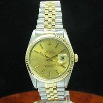 Rolex Datejust 18kt Gold / Edelstahl Automatic Chronometer...