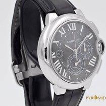 Cartier Ballon Bleu Chronograph Black 3109 Full Set