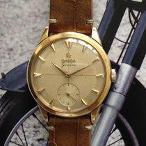 Omega Vintage Geneve 18k yellow gold