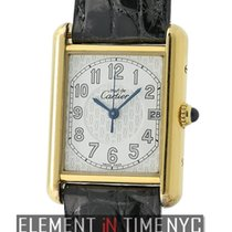 カルティエ (Cartier) Must Must Vermeil 18k Yellow Gold Plated 26mm...
