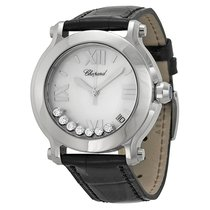 Chopard Happy Sport II Round Mother of Pearl Diamond Dia...