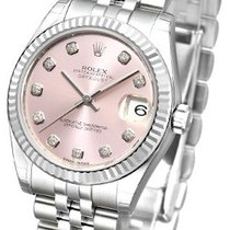 Rolex Datejust Lady 31 pink dia