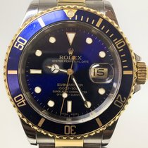 Rolex submariner date steel gold stahl gold no papers box