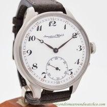IWC Pocket Watch Conversion To Wrist Watch circa 1907