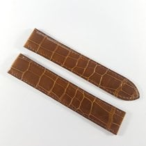 Cartier 18mm / 18mm brown alligator leather strap