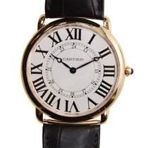 カルティエ (Cartier) Ronde Louis Cartier 18k Rose Gold Silver...