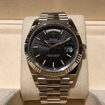 Rolex Day-Date 40mm Black Dial