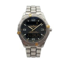 Breitling Titanium/Gold Breitling Aerospace Watch Ref..F65062
