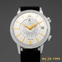 Jaeger-LeCoultre Memovox  Worldtime  Alarm  Automatic  37MM