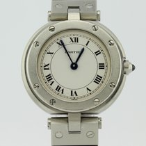 Cartier Santos Vendome Quartz Steel 227308 Lady
