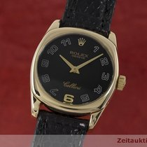 Rolex Lady Cellini Danaos 18k (0,750) Gold Damenuhr Ref. 6229
