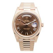 勞力士 (Rolex) Day-date 18k Rose Gold Brown Automatic 228235BRRN