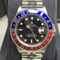 Rolex GMT-Master II Pepso 16710 Stainless Steel Watch