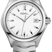Ebel 1216201 Wave in Steel - on Steel Bracelet with White Dial
