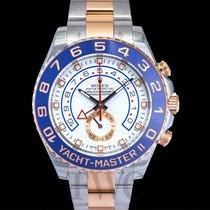 롤렉스 (Rolex) Yacht-Master II White/18k rose gold Ø44 mm  - 116681
