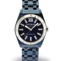 Locman Stealth 0204DB-BLDFNKBRB Diamonds Quartz Men's Watch