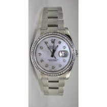 Rolex Datejust 116200 Men's Stainless Steel New Style...