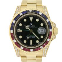 Rolex GMT-Master II Gold Custommade Saru
