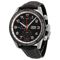 Oris Calobra Limited Edition Automatic Chronograph Black Dial...