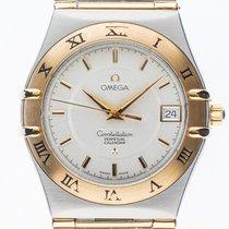 Omega Constellation Stahl Gelbgold Quarz Armband Stahl...