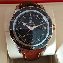 Omega Seamaster 18 Krt Rose Gold & Steel Black Dial 41 mm...