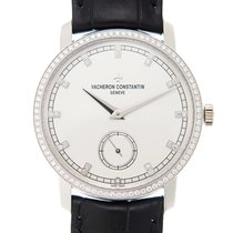 Vacheron Constantin Traditionnelle 18k White Gold Silvery...
