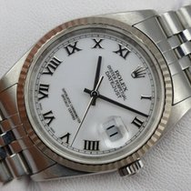 Rolex Datejust - 16234 - Papiere - aus 2003 - LC 100
