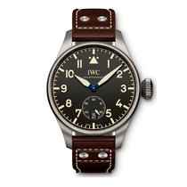 IWC Big Pilots Heritage 48 Limited edition Black Dial Hand-wou...