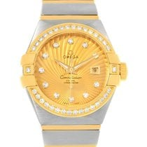 Omega Constellation 31 Co-axial Diamond Ladies Watch 123.25.31...