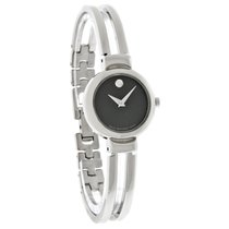 Movado Harmony Ladies Stainless Steel Bangle Bracelet Watch...