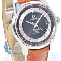 Omega De Ville Hour Vision - Brown Leather Co-Axial 41mm...
