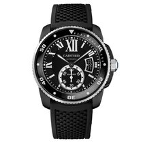 Cartier Calibre de Cartier Carbon Diver Watch
