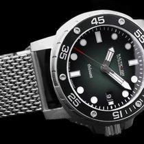 Nauticfish Thûsunt zwarz vintage w/ steel bracelet