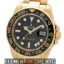 Rolex GMT-Master II Ceramic 18k Yellow Gold Black Dial