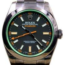 Rolex Milgauss 116400 116400V Men's 40mm Custom PVD DLC...