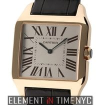 Cartier Santos Collection Santos Dumont 18k Rose Gold 35mm...