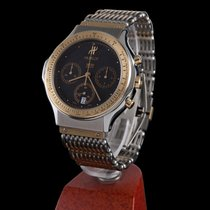 Hublot classic steel and gold chrono quartz