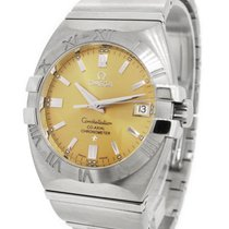 Omega Constellation Co-Axial Double Eagle Exhibition Back...