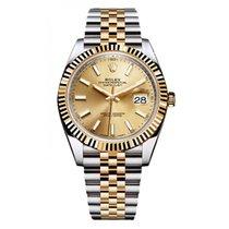 Rolex Datejust 41 126333 Gold & Stainless Steel Watch...
