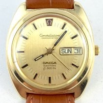 Omega Constellation F300 Chronometer 80 Mikron vergoldet