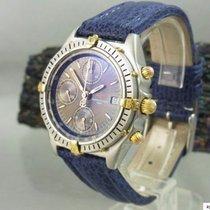 Breitling Chronograph Chronomat Stahl Gold Herrenuhr