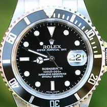 Rolex Submariner Black 16610 Or 16600 Stainless Steel Box...