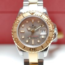 Rolex Yachtmaster Lady Stahl Gold Box Papiere