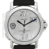 Ulysse Nardin stainless steel Dual Time