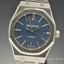 Audemars Piguet Royal Oak Blue Dial Stainless Steel 41MM Watch...