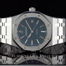 "Audemars Piguet Royal Oak ""BLUE DIAL"" BOUTIQUE-AUSFÜHRUNG"